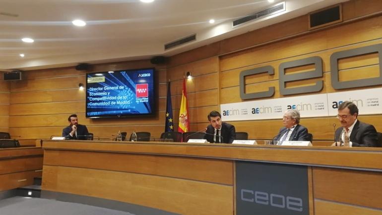 La nueva asociación de tecnología y comunicación presenta sus objetivos en compañía de las grandes empresas del sector y la Comunidad de Madrid